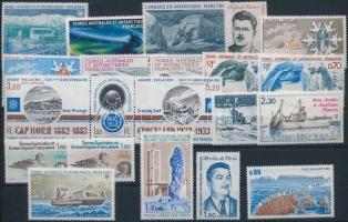 1983-1984 21 stamps, 1983-1984 21 klf bélyeg, csaknem a teljes két év kiadásai
