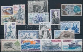16 klf bélyeg, csaknem a teljes két év kiadásai, 16 stamps