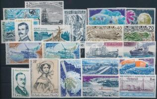 1977-1982 21 stamps, 1977-1982 21 klf bélyeg, közte sorok