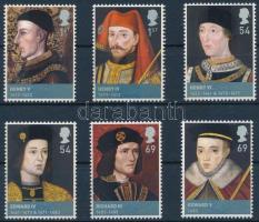 British rulers set, Brit uralkodók sor