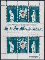 Queen Elizabeth II. mini sheet, II. Erzsébet királynő kisív