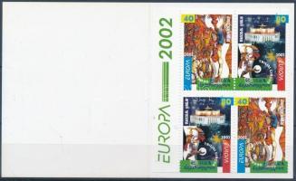 Europa CEPT: Circus stamp-booklet, Europa CEPT: Cirkusz bélyegfüzet