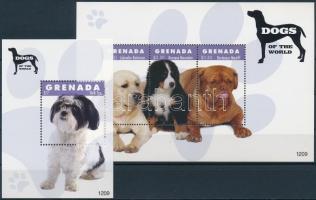 Dogs mini sheet + block Kutyák kisív + blokk
