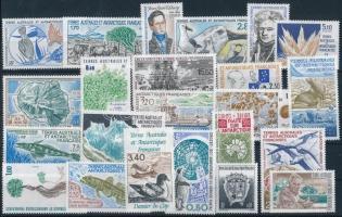 1990-1992 23 stamps, 1990-1992 23 klf bélyeg, csaknem a teljes 3 évfolyam kiadásai