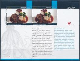 Europa CEPT: Gastronomy block, Europa CEPT: Gasztronómia blokk