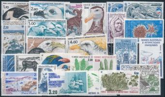 985-1987 25 stamps, 985-1987 25 klf bélyeg, csaknem a teljes 3 évfolyam kiadásai