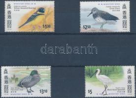 HONG KONG International Stamp Exhibiton, migratory birds set, HONG KONG nemzetközi bélyegkiállítás, vándormadarak sor