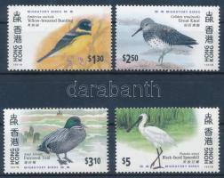 HONG KONG International stamp exhibition, migratory birds set HONG KONG nemzetközi bélyegkiállítás, vándormadarak sor