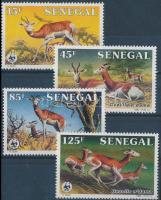1986 WWF: Dámgazella sor Mi 875-878