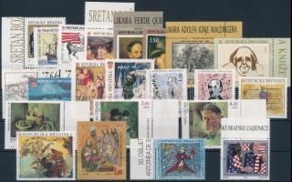 1991-1994 22 stamps 1991-1994 22 klf bélyeg, közte sorok, többnyire ívszéli és ívsarki értékek