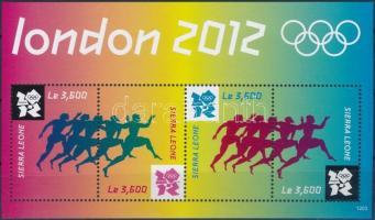 2012 Nyári Olimpia, London kisív Mi 5632-5635
