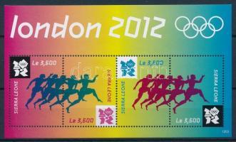 Summer Olympics, London minisheet, Nyári Olimpia, London kisív