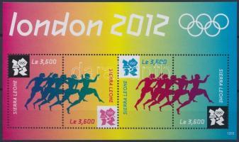 Summer Olympics London minisheet Nyári Olimpia, London kisív