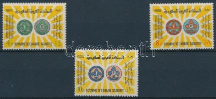 1966 Cserkésztalálkozó sor Mi 281-283
