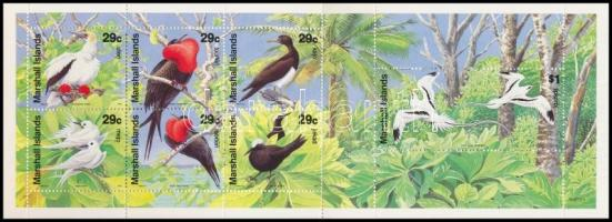 Birds stamp-booklet Madarak bélyegfüzet