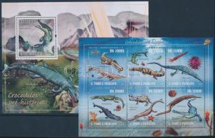 2010 Prehisztorikus állatok kisív Mi 4301-4306 + blokk 741