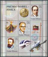 Nobel Laureates mini sheet Nobel-díjasok kisív