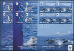2010 WWF: Delfin kisívsor Mi 615-618