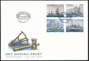 Stamp Exhibition block of 4 FDC Bélyegkiállítás négyestömb FDC-n