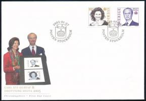Definitive set on FDC, Forgalmi sor FDC-n