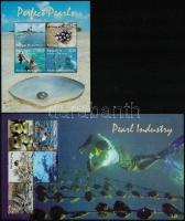 Pearl industry 2 diff block, Gyöngytenyésztés 2 klf blokk