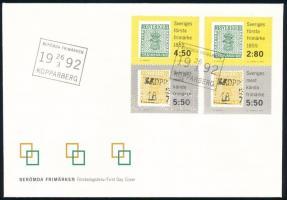 Stamp set FDC, Bélyeg sor FDC-n