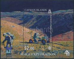 First Exploration block 40 éve járt az első ember a Holdon blokk