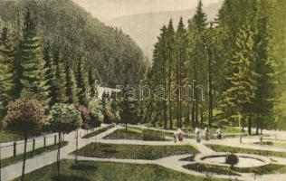 Kremnica; promenade, Körmöcbánya, Kremnica; Zólyom-völgy sétatér