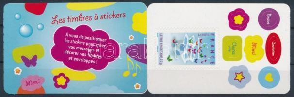 Üdvözlőlapok, ajándékcsomagok öntapadós bélyegfüzet, Greeting cards, gift packages self-adhesive stamp-booklet