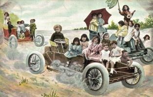 Children in automobiles (EK)