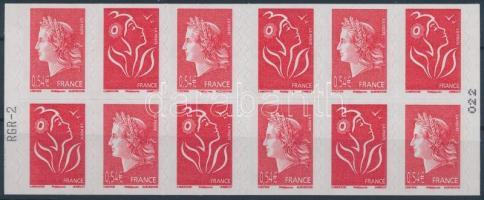5th Republic stamp-booklet, V. Köztársaság bélyegfüzet