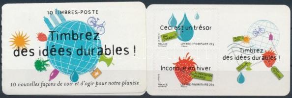 Environmental protection stamp-booklet Környezetvédelem bélyegfüzet