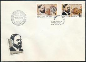 1988 Bélyegnap (61.) vágott sor FDC (3.500)