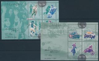 Stamp Exhibition blockset Bélyegkiállítás blokksor