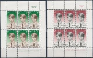 Health, Prince Edward mini sheet set, Egészség, Edward herceg kisív sor