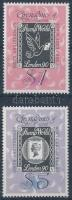 150th anniversary of stamp: International stamp exhibition; STAMP WORLD LONDON '90 set, 150 éves a bélyeg: Nemzetközi bélyegkiállítás; STAMP WORLD LONDON '90 sor