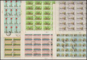 1959 Közlekedési múzeum (I.) 100 db sor 2x50-es ívekben (30.000)