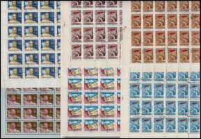1959 Magyar Tanácsköztársaság (IV.) 100 db sor + Szovjet bélyegkiállítás 70 db sor ívekben (20.500)
