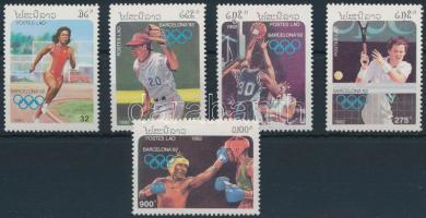 1992 Nyári Olimpia: Barcelona sor Mi 1296-1300
