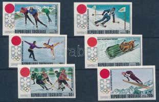 Winter Olympics: Sapporo imperforated set, Téli Olimpia: Szapporo vágott sor