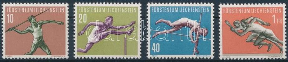 1956 Sport (III.) sor Mi 342-345