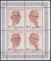 Beatification of John Paul II minisheet II. János Pál pápa boldoggá avatása kisív