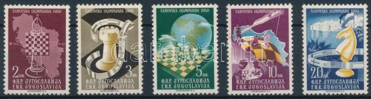 Chess Olympics set Sakk olimpia sor