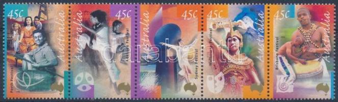 Art Festival set stripe of 5, Művészeti fesztivál sor ötöscsíkban