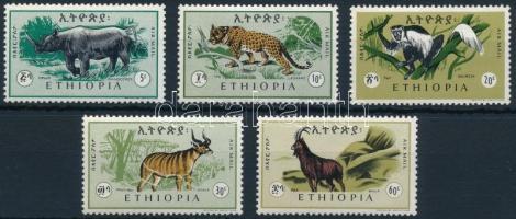 Mammals set, Emlősállatok sor