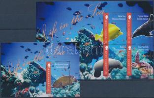 Fish minisheet + block Halak kisív + blokk