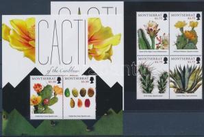 Cactus minisheet + block Kaktusz kisív + blokk