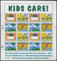 1995 Gyermekrajzok teljes ív Mi 2553-2556