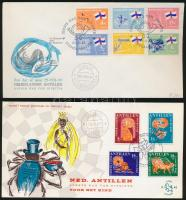 1965-1968 3 FDC 1965-1968 3 klf FDC