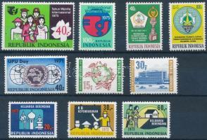 1970-1977 4 sets + 1 stamp 1970-1977 4 klf sor + 1 önálló érték